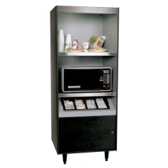 All State AS272-HT-N/L-B Condiment Stand No Light