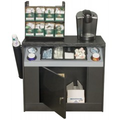 All State OCS360 Office Coffee Stand with Shelf