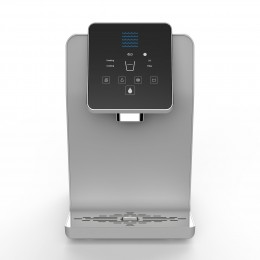Blu Logic USA Kenmore KM1000 Series Countertop Bottless Water Cooler with Hot Cold and Ambient Temperatures - White