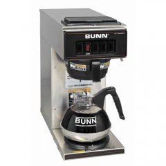 Bunn VP17-1 Stainless Steel Low Profile Pourover Coffee Brewer 3.8
