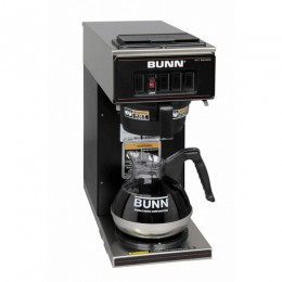 Bunn VP17-1 BLK Pourover Coffee Brewer w/ 1 Lower Warmer Black 120V