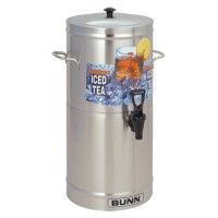 Bunn TDS-3 3 Gallon Iced Tea Dispenser - Cylinder Style