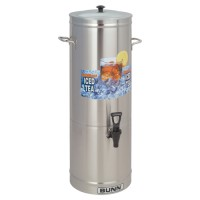 Bunn TDS-5 5 Gallon Iced Tea Dispenser - Cylinder Style