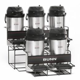 Bunn UNIV-5 APR Two Tier Five Pot Universal Airpot Rack