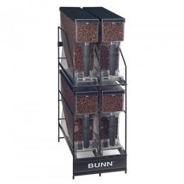 Bunn 4 Position Hopper Rack for MHG Smart Hoppers