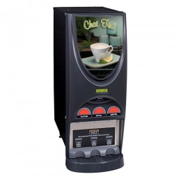 Bunn iMIX-3 BLK Specialty Tea Dispenser w/ 3 Hoppers