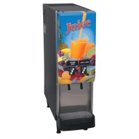 Bunn JDF-2S 2 Flavor Cold Beverage Juice Dispenser Dual Dispense 120V
