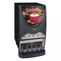 Bunn iMIX-5S Powdered Cappuccino Dispenser with 5 Hoppers - 120V