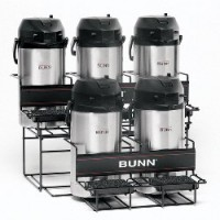 Bunn UNIV-5 APR Two Tier Five Pot Universal Airpot Rack