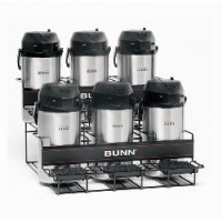 Bunn UNIV-6 APR Two Tier Six Pot Universal Airpot Rack