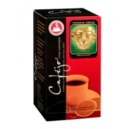 Cafejo Colombian Decaf 100%  Single Pods 216/CS