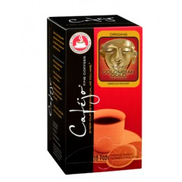 Cafejo Colombian Gold Single Pods 216/CS