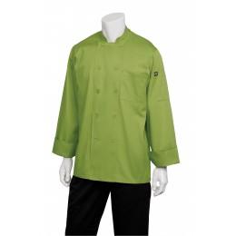 Chef Works 2833LIM2XL Genova Lime Chef's Coat 2XL