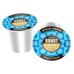 Authentic Donut Shop Original Roast Cups, 4 Boxes of 24 Cups, 96 Total