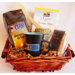 Cuda Coffee Morning Gift Basket