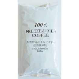 Colombian Freeze Dried Coffee 1 - 8oz Bag