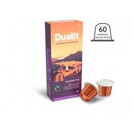 Dualit and Nespresso Compatible 15886 Ristretto Aluminum Capsules 100 Pack