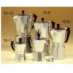 European Gift 10-3 Aluminum Stove Top Espresso Maker 3 Cup