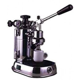 La Pavoni PC-16 Professional 16cup Lever Espresso Machine Chrome Base