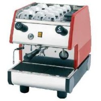 European Gift PUB 1M-R La Pavoni 1 Group, Manual, Red Espresso Machine