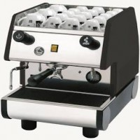 European Gift PUB1M-B La Pavoni 1 Group, Manual, Black Espresso Machine
