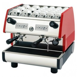 European Gift PUB 2V-R La Pavoni 2 Group Volumetric Red Espresso Machine