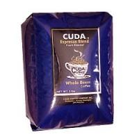 Cuda Coffee Espresso Blend Fresh Roasted Gourmet 5lb