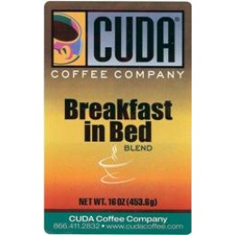Cuda Coffee Breakfast in Bed Blend 1lb