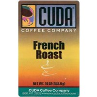 Cuda Coffee French Roast Blend 1lb