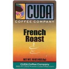 Cuda Coffee French Roast Blend 1lb