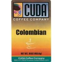 Cuda Coffee Colombian 1lb