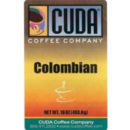 Cuda Coffee Colombian 1lb