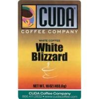 Cuda Coffee White Coffee White Blizzard 1lb