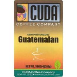 Cuda Coffee Certified Organic Guatemalan 1lb