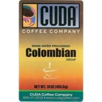 Cuda Coffee Colombian Decaffeinated 1lb