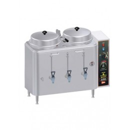 Cecilware Twin 3gal Adjustable by Pass Coffee Urn 120/208/240V 1 PH