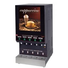 Cecilware GB5M10-LD 5 Hopper Cappuccino Dispenser Illuminated 120V