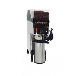 Grindmaster 10H Airpot Coffee Brewer w/ Grinder Single Bean