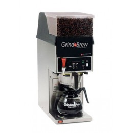 Grindmaster GNB-11H Glass Decanter Coffee Brewer w/ Grinder 120V