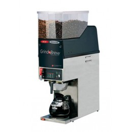 Grindmaster GNB-21H Decanter Coffee Brewer w/ Grinder Dual Bean 120V