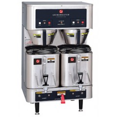 Grindmaster P400E Gallon 1.5 Gallon Twin Shuttle Coffee Brewer 120/240V
