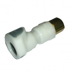 Colder Products CP460 In-Line Copper Compression Socket, 1/4