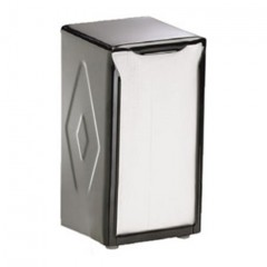Table Top H900BK Napkin Dispenser Tall Fold Black
