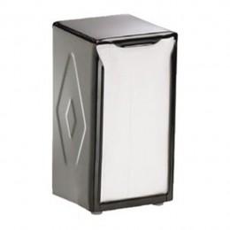 Table Top H900BK Napkin Dispenser Tall Fold Black
