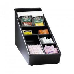 Dispense-Rite Countertop Lid, Straw & Condiment organizer Narrow