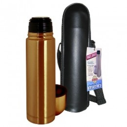 Stainless Steel Thermal Bottle w/Carry Case Bronze