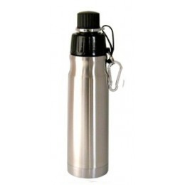 Stainless Steel Water Bottle 16 oz Stainless