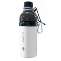 Pet Water Bottle Stainless Steel 16 oz White