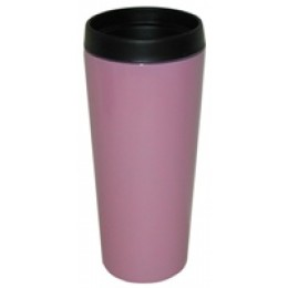 Stainless Steel Insulated Travel Mug 14 oz Pink