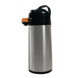 Koffee by the Kup Airpots 2.2L Stainless Finish Lever Style